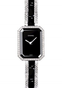 Montre Chanel Premiere or blanc Diamants ceramique