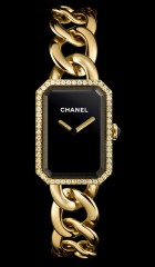 Montre Chanel Premiere or jaune Diamants