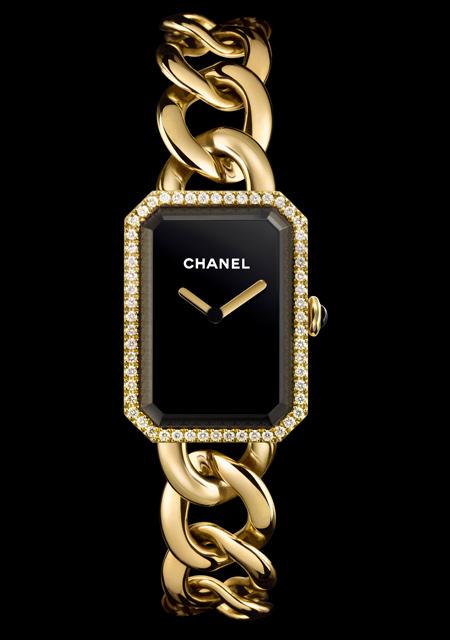Montre chanel premiere or jaune diamants montre femmes 03 07 2018 - Montre femme de luxe ...
