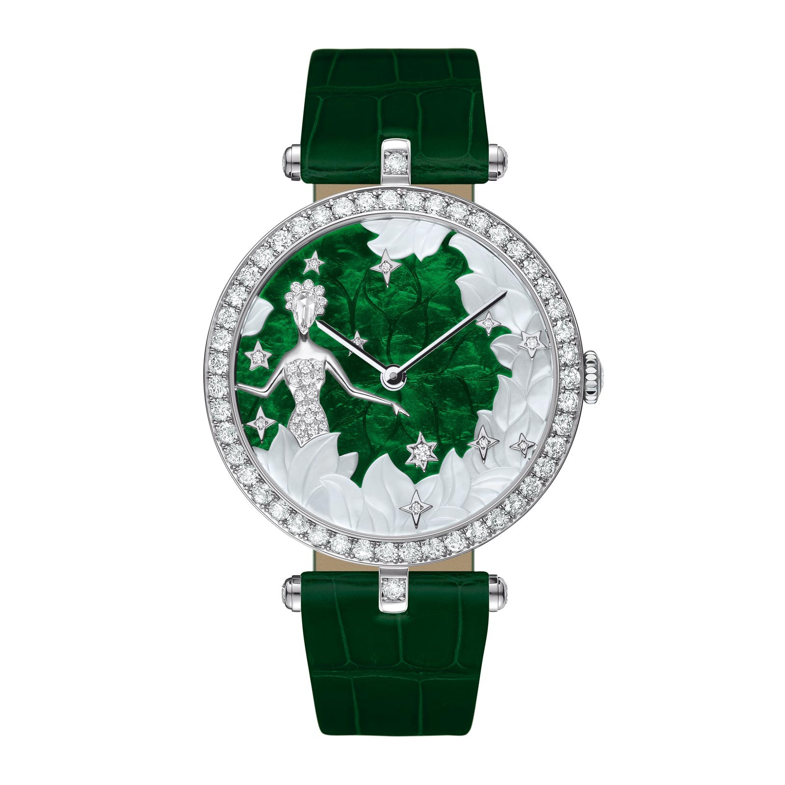 montre van cleef and arpels lady arpels zodiac virgo montre femmes 15 07 2018. Black Bedroom Furniture Sets. Home Design Ideas